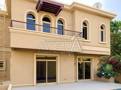 4 Bedroom Villa for Rent in Khalifa City A, Abu Dhabi - Beautiful Villa with Private Pool! 4 Bed with Facilities in Golf Gardens