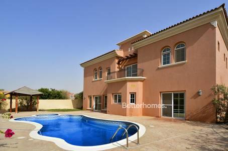 6 Bedroom Villa for Sale in Arabian Ranches, Dubai - Maid's | Type 18 | Swimming Pool