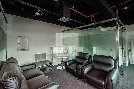 Office for Rent in Jumeirah Lake Towers (JLT), Dubai - Fitted Office I High Floor I Freezone