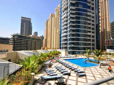 1 Bedroom Flat for Rent in Dubai Marina, Dubai - Fantastic Marina View / Beautifully Fully Furnished / View Now