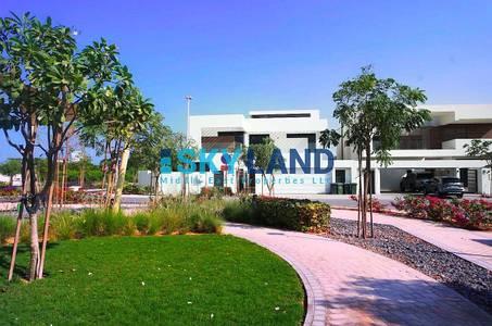 فیلا  للبيع في جزيرة ياس، أبوظبي - modern style 4 beds corner villa type T2
