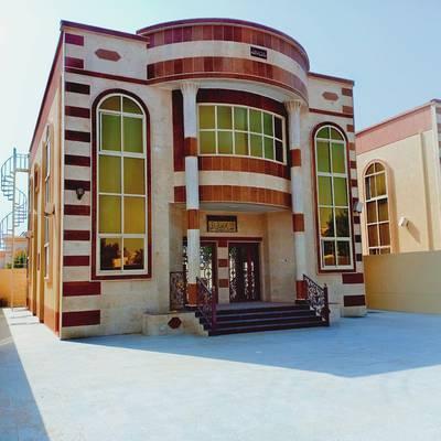 5 Bedroom Villa for Sale in Al Zahraa, Ajman - Villa for sale in ajman near to sheik ammar road