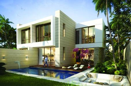 3 Bedroom Villa for Sale in Akoya Oxygen, Dubai - No commissions, Cheapest villa, large area with best payment plan