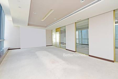 Office for Sale in Downtown Dubai, Dubai - Burj Khalifa View High Floor Fitted Office
