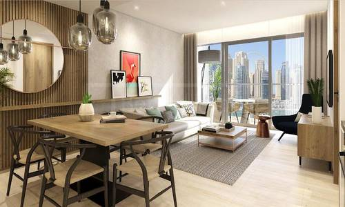 2 Bedroom Apartment for Sale in Dubai Marina, Dubai - High Floor 2 Bed in Vida Residences Dubai Marina