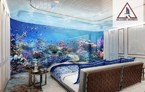 4 Bedroom Villa for Sale in The World Islands, Dubai - first time sleep under water in you room