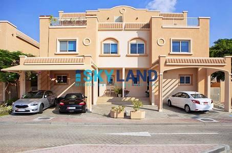 فیلا  للايجار في الريف، أبوظبي - lowest price for 4 beds villa single row