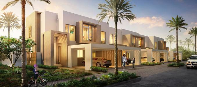 3 Bedroom Townhouse for Sale in Reem, Dubai - . Villa 5 years installments after the receipt.Two floors