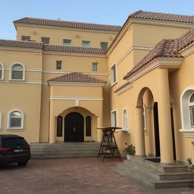 5 Bedroom Villa for Rent in Al Shamkha, Abu Dhabi - FamilyLuxuriousvilla-Wellmaintained