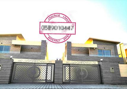 5 Bedroom Villa for Sale in Al Rawda, Ajman - New villa free ownership of all nationalities with the possibility of bank financing