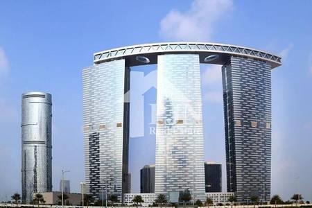 2 Bedroom Flat for Sale in Al Reem Island, Abu Dhabi - Vacant 2+Study For Sale In Gate Tower 1...