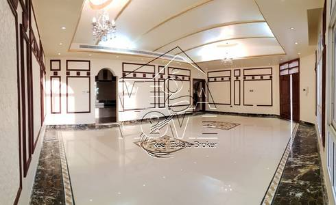 6 Bedroom Villa for Rent in Khalifa City A, Abu Dhabi - CLASSIC DESIGN 6 MASTER BED With DRIVER ROOM