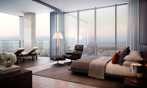 استوديو  للبيع في البرشاء، دبي - Own Luxurious hotel apartment with a guaranteed return 8%..