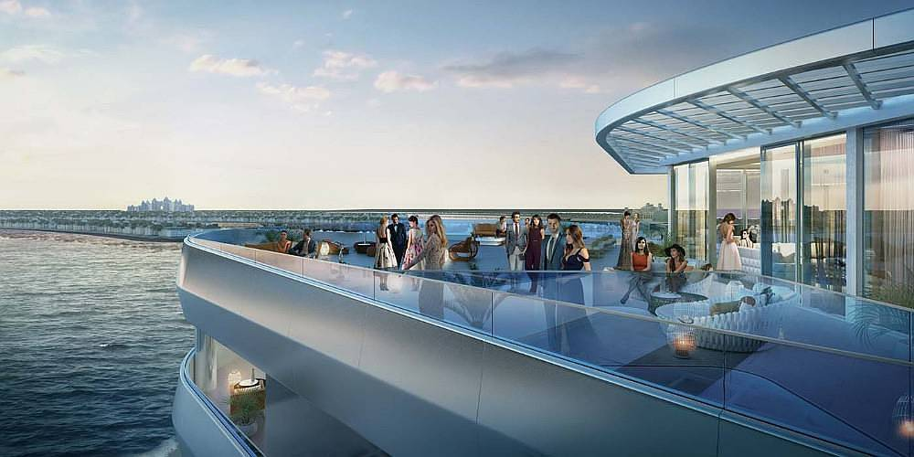 Full Sea View Lavishing Apartment on Palm