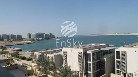 6 Bedroom Villa for Sale in Al Raha Beach, Abu Dhabi - Sea Facing Podium Villa Available Now For Sale.