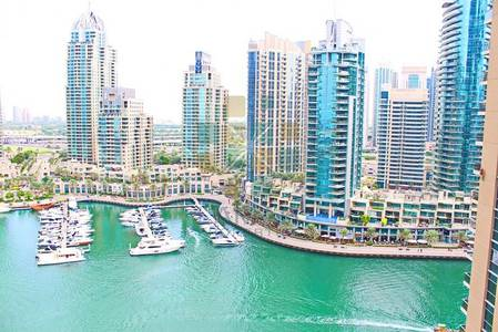 2 Bedroom Apartment for Rent in Dubai Marina, Dubai - Marina view - 2 Bed with maids - Furnished