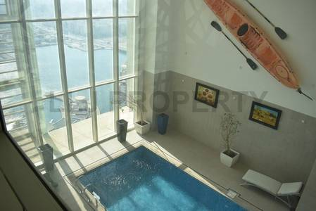 5 Bedroom Penthouse for Sale in Al Reem Island, Abu Dhabi - A Luxury Penthouse with Private Pool : In The Sky!