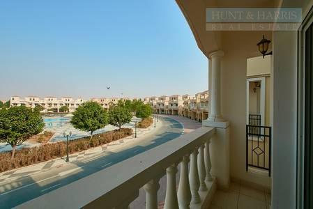 2 Bedroom Townhouse for Sale in Al Hamra Village, Ras Al Khaimah - Pool side TC Townhouse- FEWA upgrade paid- Al Hamra Village