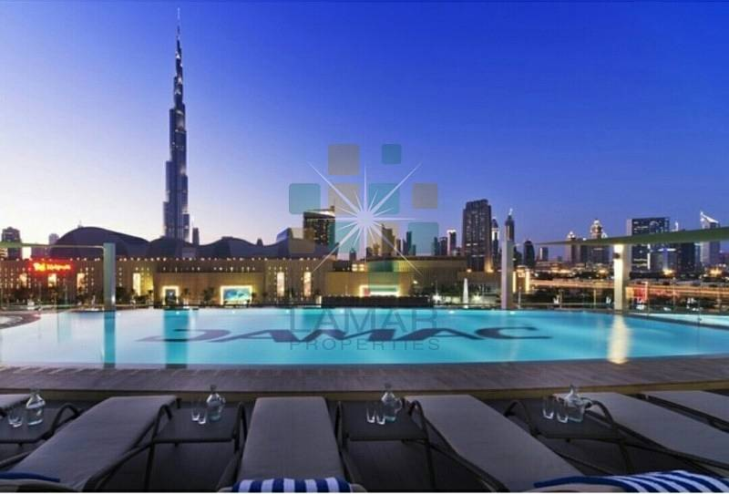 2BD Hotel Apartment in Rental Pool The Signature by Damac