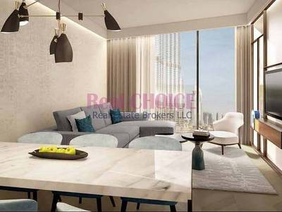 1 Bedroom Hotel Apartment for Sale in Downtown Dubai, Dubai - Serviced Apartment | Good for Investment