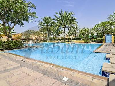 2 Bedroom Townhouse for Rent in Arabian Ranches, Dubai - Furnished Single Row 2 plus Study Opp Lake
