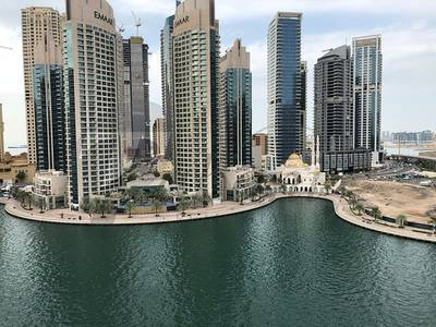2 Bedroom Flat for Rent in Dubai Marina, Dubai - 2 beds Fully Furnished with Balcony Overlooking The Marina