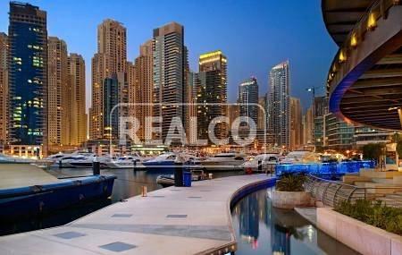 1 Bedroom Flat for Sale in Dubai Marina, Dubai - Elegant 1 BR for Sale | Time Place Tower