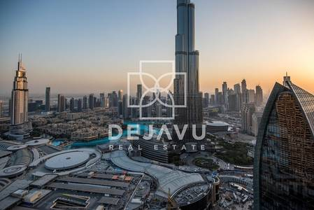 2 Bedroom Flat for Rent in Downtown Dubai, Dubai - Furnished & Serviced Full Burj View & Fountain View