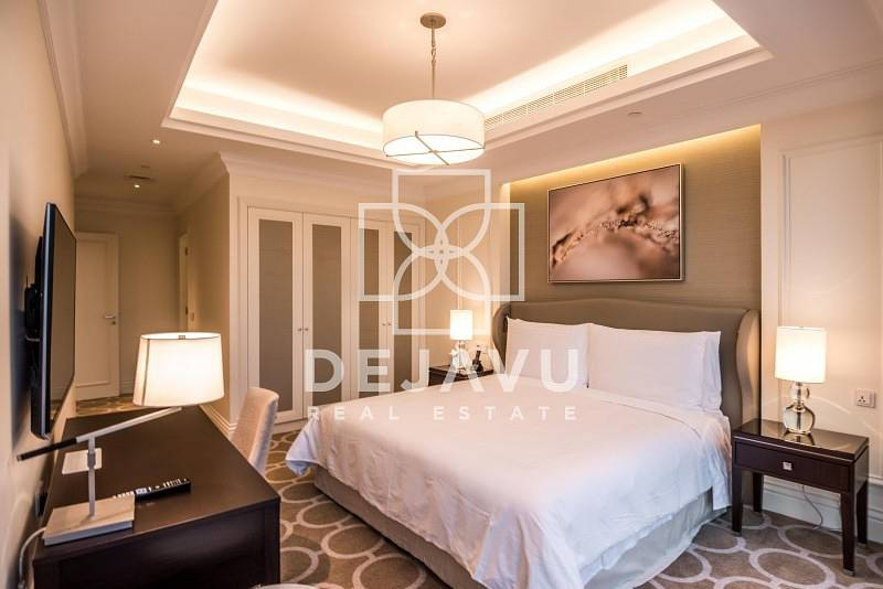 Furnished & Serviced Full Burj View & Fountain View