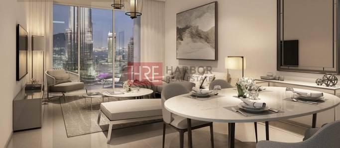 1 Bedroom Flat for Sale in Downtown Dubai, Dubai - Elegant 1BR with Burj Khalifa View  in Downtown Dubai