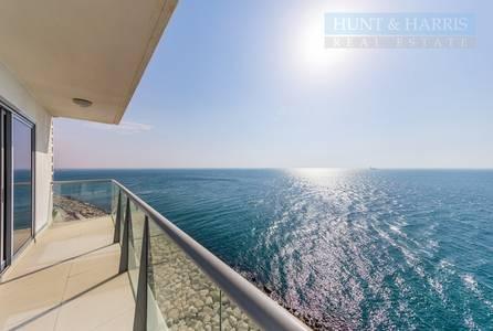 شقة 2 غرفة نوم للبيع في جزيرة المرجان، رأس الخيمة - Sea Facing 2 Bedroom Gulf Suite - Al Marjan Island