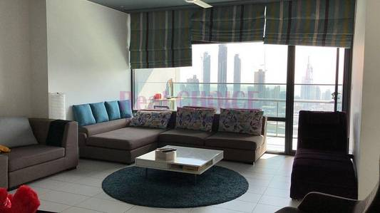 2 Bedroom Flat for Rent in DIFC, Dubai - 2BR Plus Maids Room | Burj Khalifa View