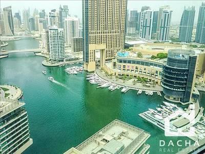 1 Bedroom Apartment for Sale in Dubai Marina, Dubai - Full Marina View / 1BR Marina Quays West