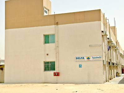 Warehouse for Sale in Al Jurf, Ajman - HOT DEAL!! 29000 SQFT INDUSTRIAL PLOT CONTAINING WAREHOUSES & LABOR CAMPS FOR SALE WITH 12% INCOME