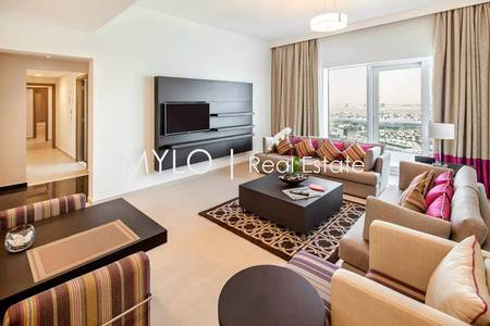 4 Bedroom Hotel Apartment for Rent in Al Barsha, Dubai - Serviced Apartments with Panoramic Views