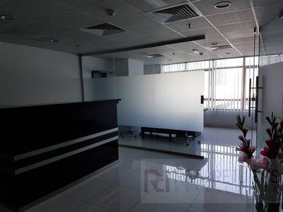 Office for Rent in Jumeirah Lake Towers (JLT), Dubai - Furnished Office