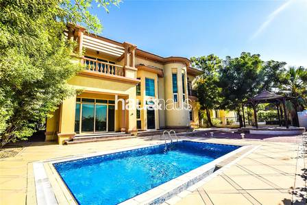 4 Bedroom Villa for Rent in Jumeirah Islands, Dubai - Super Condition | Garden Hall | View Now