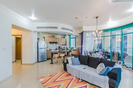 2 Bedroom Apartment for Sale in Dubai Marina, Dubai - Sea View | High Floor | Currently Rented