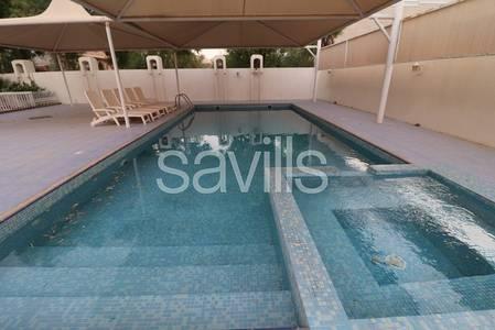 4 Bedroom Villa for Sale in Al Fisht, Sharjah - Airy villa Large plot Big swimming pool