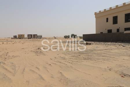 Plot for Sale in Al Noaf, Sharjah - Prefectly located plot ideal for two villas