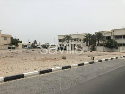 ارض سكنية  للبيع في الفشت، الشارقة - Three side open residential plot in Sarqan