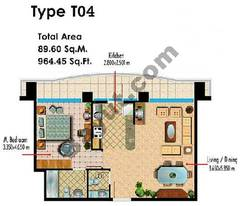 Type T04 1 Bedroom
