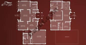 Alhejaz Style 3 Bedroom Villa Type A