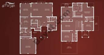 Alhejaz Style 5 Bedroom Villa Type B