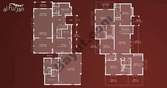Alhejaz Style 6 Bedroom Villa