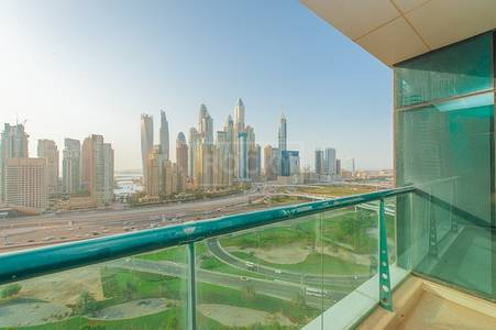 2 Bed with Sheikh Zayed Road View in Tamweel Tower