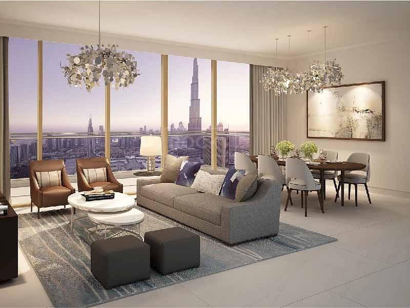 2 1 Bedroom Apartment next to Dubai Mall
