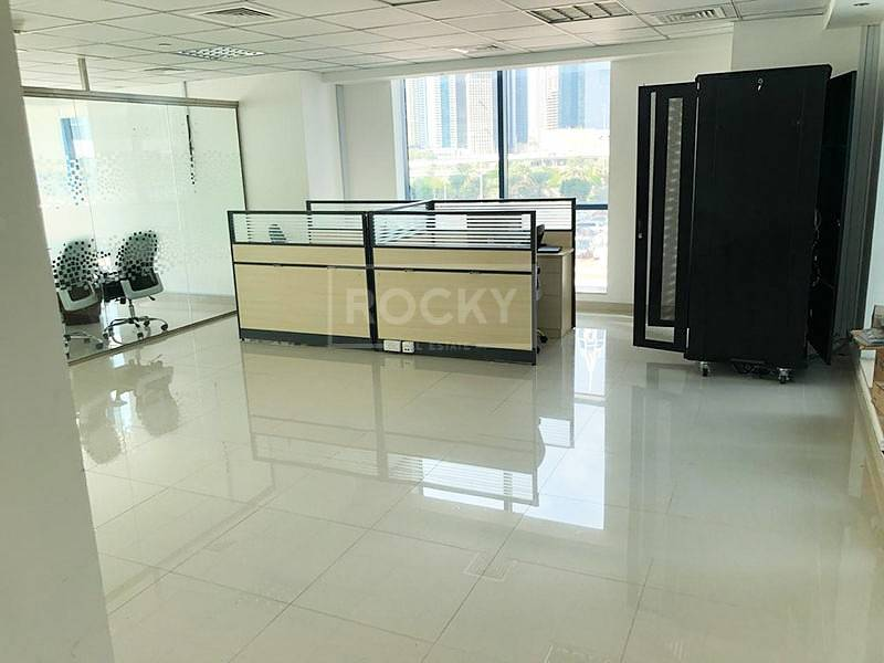 2 CLUSTER X | Fitted-Furnished | Office space | Jumeirah Bay X2