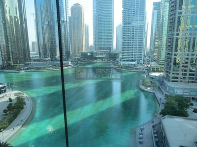 Office for Rent in Jumeirah Lake Towers (JLT), Dubai - Lake View Furnished Office in Indigo Icon