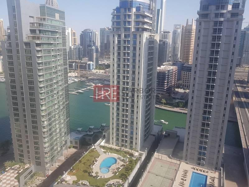 2BR on a High Floor + Breathtaking Marina View!